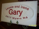 carvewright custom carvings by perry residential sign