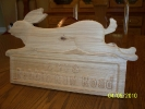 carvewright custom carvings by perry residential sign rabbit