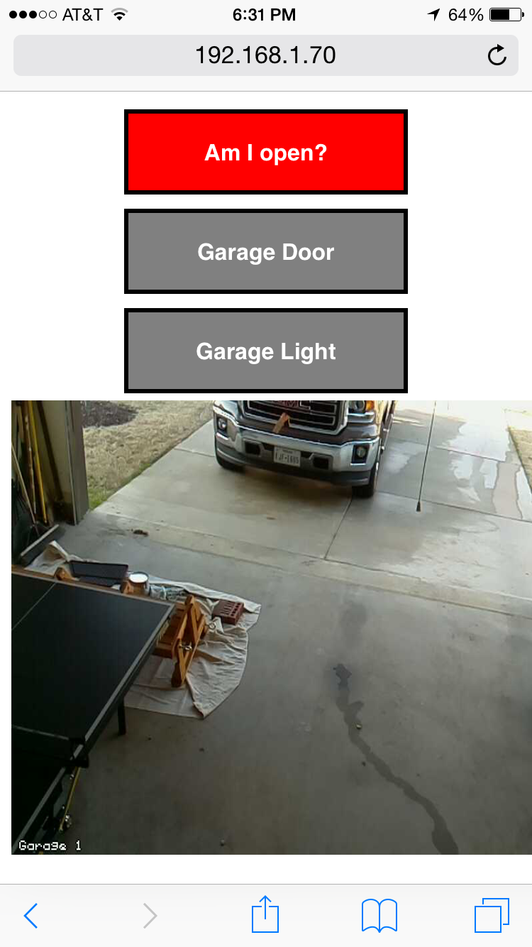 Superbe Raspberrypi Garage Door Opener Web Interface